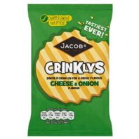 Mini Cheddars  Crinklin' Cheese & Onion 30 x 50gm